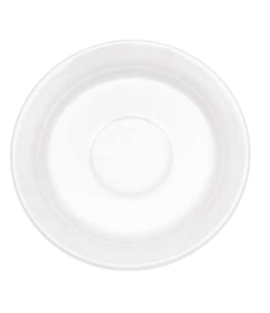 "Saucer, 4-3/4"", (for cup OCR's -1450/51), premium porcelain, Corpo White"