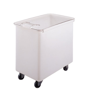 Ingredient Bin, mobile, 42-1/2 gallon capacity, molded polyethylene with sliding