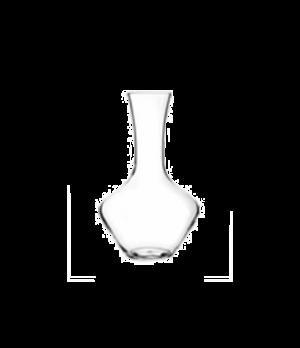 "Decanter, 60-3/4 oz., glass, clear, Hybrid, Spiegelau (H 10-5/8""; T 3""; B 3""; D"