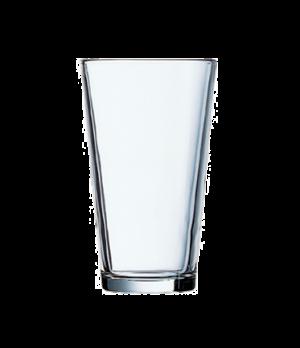 "Mixing Glass, 14 oz., rim tempered, Arcoroc, Barware (H 5-3/4""; T 3-1/2""; B 2-3/"