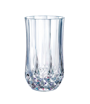 "Hi Ball Glass, 12 oz., crystal, Cristal D'Arques, Longchamp, (H 5-1/4""; T 2-3/4"""