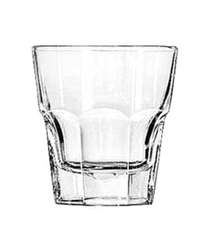 "Rocks Glass, 8 oz., DuraTuff®, GIBRALTAR®, (H 3-5/8""; T 3-3/8""; B 2-1/2""; D 3-3/"