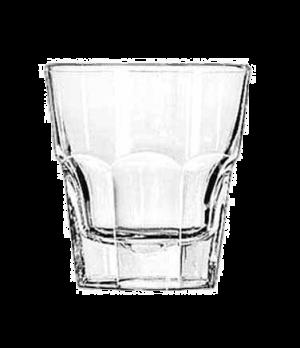 """Rocks Glass, 8 oz., DuraTuff®, GIBRALTAR®, (H 3-5/8""""; T 3-3/8""""; B 2-1/2""""; D 3-3/"""