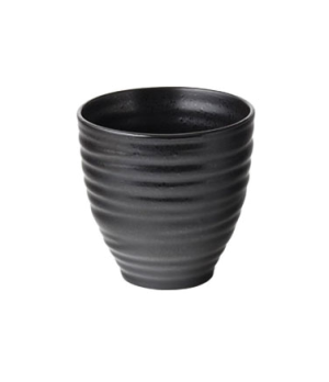 "Chip Bowl, 11 oz (325mL), 3.44"" diameter, cylindrical, embossed, vitrified ceram"