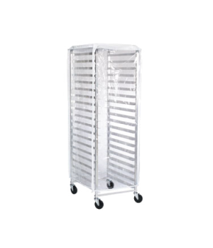"Rack Cover, 23""W x 28""D x 62""H, end load, resists cracking to -10° F (23° C),"