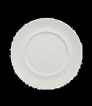 """Plate, 10-1/2"""", flat, premium porcelain, Perimeter"""