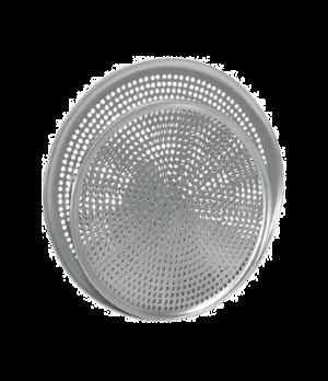 """Pizza Plate, 7"""" dia., perforated, 1.0 mm gauge, aluminum"""
