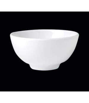 "Bowl, 9 oz., 4-1/2"" dia. x 2-1/4""H, round, number 3, Distinction, Monaco White ("
