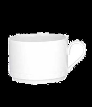 Cup #1, 9-1/4 oz., stackable, premium porcelain, Millenia Bianca
