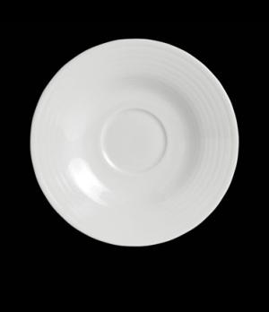 "Coffee Saucer, 6-1/8"" dia., round, porcelain, Rene Ozorio Virtuoso (Canada stock"