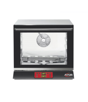 "Axis Convection Oven, 1/2 size, 23-5/8""W x 28-7/16""D x 21-3/32""H, 2.40 cubic fee"