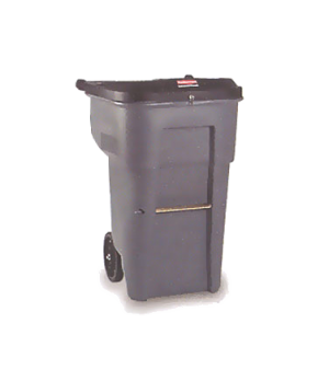 BRUTE® Secure Confidential Document Container, 95 gallon, gray