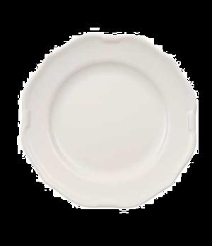 "Plate, 8-1/4"", flat, premium porcelain, La Scala"