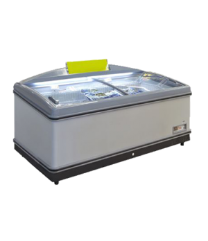 "Grocery Case Chest Freezer, horizontal, 77.6"" wide, 20.2 cu. ft. capacity, slidi"