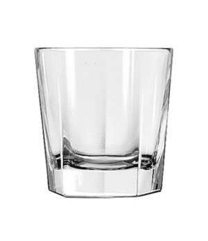 "Double Old Fashioned Glass, 12-1/4 oz., DuraTuff®, INVERNESS, (H 3-7/8""; T 3-3/4"