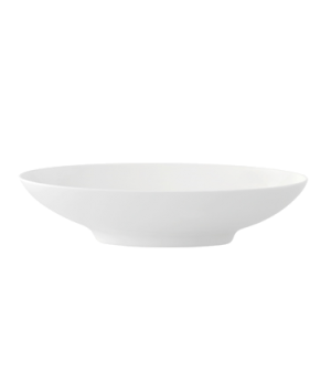 "Bowl, 11-3/4"" x 7"", oval, premium bone porcelain, Modern Grace"