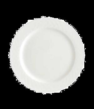 "Plate, 11-3/8"", flat, premium porcelain, Bella"