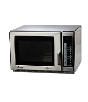 Amana® Commercial Microwave Oven, 1.2 cu. ft., 1800 watts, medium volume, capaci