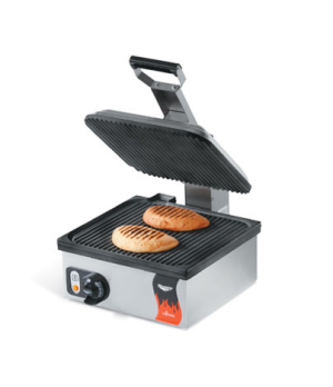 "Cayenne® Panini Sandwich Press, electric, single, 13-5/16"" x 12-3/16"" fixed cast"