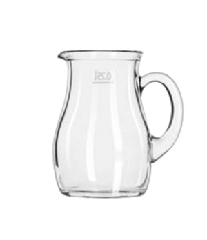 Pitcher, 8-1/2 oz., small, imported from Italy