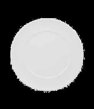 "Plate, 12-5/8"", flat, premium porcelain, Sedona"