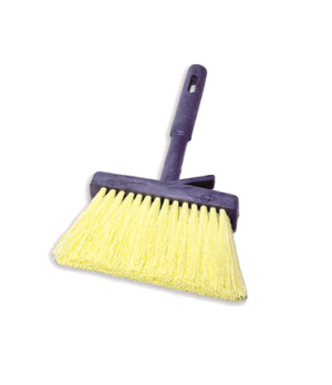 Masonry Brush, plastic handle, synthetic fill, yellow