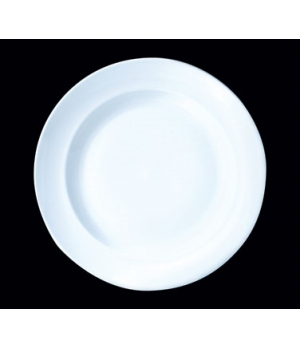 "Plate, 10"" dia., round, Distinction, Vogue, Vogue White (Canada stock item) (min"