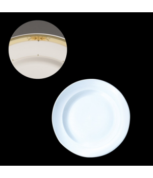 "Plate, 11-3/4"" dia., round, narrow border, Vogue, Fernoir (Special Order) (minim"