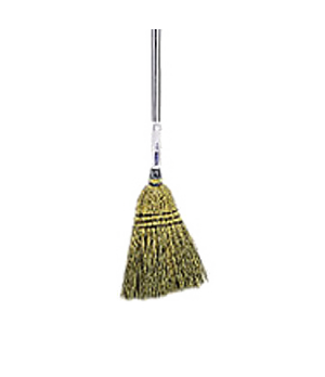 Lobby Broom, 100% corn, brown