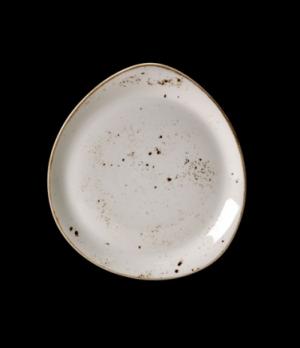 "Plate, 12"" dia., round, free style body, narrow rim, freezer/microwave/dishwashe"