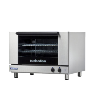 "Turbofan Convection Oven, electric, countertop, compact 31-7/8"" width, (2) full"