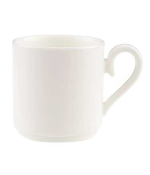 Cup #4, 6 oz., stackable, premium bone porcelain, Stella Hotel (DE Stock)