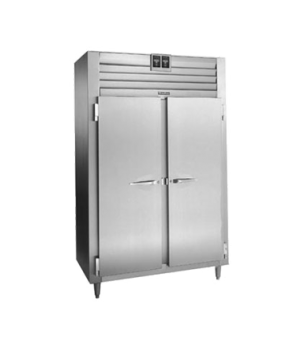 Spec-Line Refrigerated/Heated Dual Temp Cabinet, Reach-In, Two Section, self-con