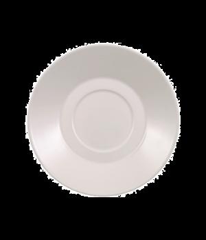 "Saucer, 6-3/4"", (soup cup OCR -2513), premium bone porcelain, Stella Hotel"