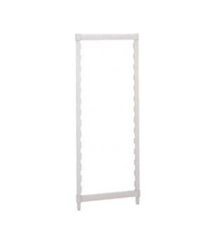 """Camshelving® Post Kit, 21""""W x 84""""H, includes: two posts & a set of post connecto"""