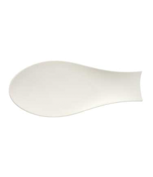 """Platter, 16-7/8"""" x 7-1/2"""", oval, premium porcelain, Flow"""