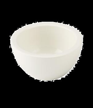 """Dip Bowl, 3"""" dia., round, white, premium porcelain, Artesano"""