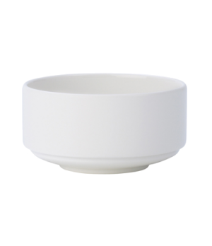 "Soup Cup, 11-1/2 oz., 4-1/4"", stackable, unhandled, premium porcelain, Affinity"