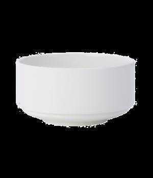 "Soup Cup, 11-1/2 oz., 4-1/4"", stackable, unhandled, premium porcelain, Affinity"