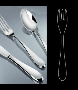 "Cake Fork, 5-3/4"", stainless steel, La Tavola, Premiere (USA stock item) (minimu"