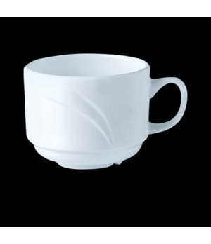 Cup, 6 oz., stacking, Distinction, Alvo, Alvo White (UK stock item) (minimum = c