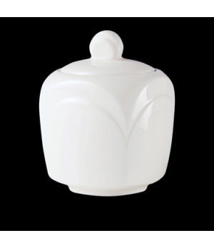 Sugar Bowl Lid, Distinction, Bianco, Bianco White (UK stock item) (minimum = cas