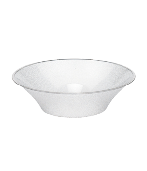 "Bowl, pebbled, bell-shaped, 18"" dia., 12-1/2 qt. capacity, polycarbonate, NSF"
