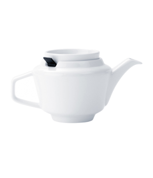 Teapot, 13-1/2 oz., with filter, premium porcelain, Affinity