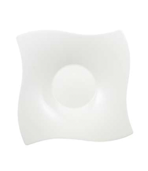 "Salad Bowl, 13-1/4"" x 13-3/4"", 68 oz., premium bone porcelain, New Wave Premium"