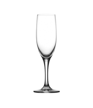 Flute Glass, 6.66 oz. (197ml), rim tempered, toughened crystal, Primeur