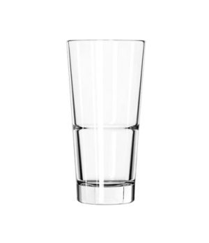 "Cooler Glass, 20 oz., DuraTuff®, ENDEAVOR™ (H 7-1/4""; T 3-5/8""; B 2-5/8""; D 3-5/"