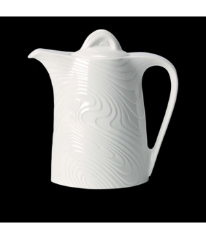 Beverage Pot, 21 oz., ceramic, Distinction, Optik™ (priced per case, packed 6 ea