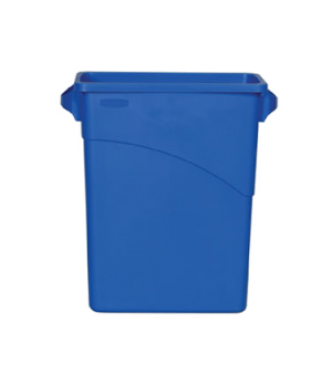 Slim Jim® Waste Container, 15-7/8 gallon (60 liter), general purpose waste, open