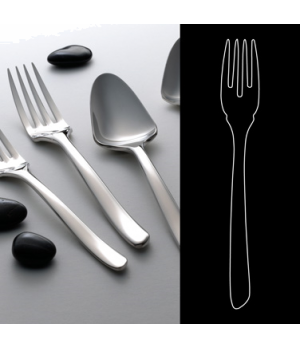 "Fish Fork, 7-1/4"", 18/10 stainless steel, WNK, Tuscany (USA stock item) (minimum"